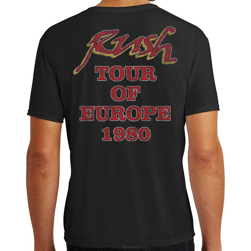 "Rush ""European Tour 1980"" T-Shirt"