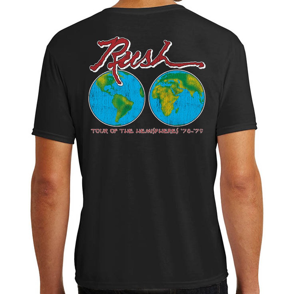 "Rush ""Hemispheres World Tour 1978-1979"" T-Shirt"