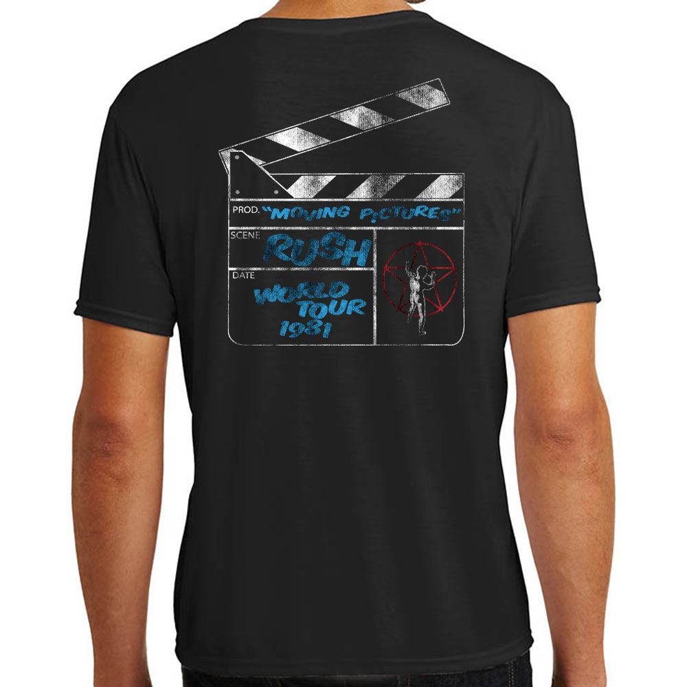 "Rush ""Moving Pictures"" T-Shirt"