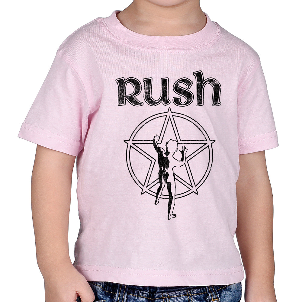 "Rush ""Starman"" Infant T-Shirt in Pink"