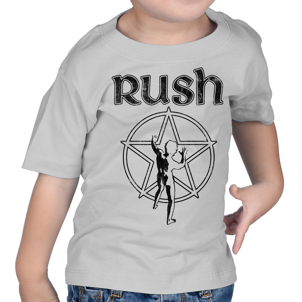 "Rush ""Starman"" Infant T-Shirt in Silver"