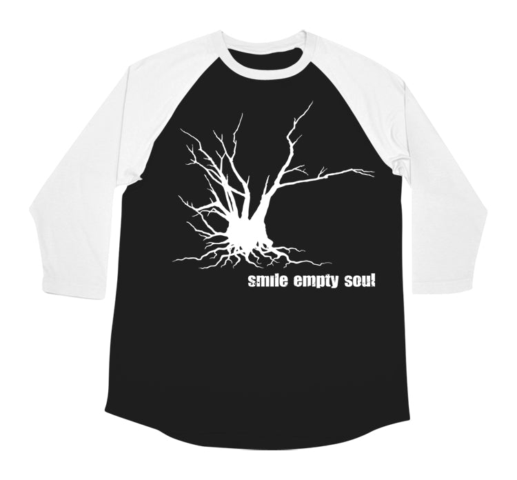 "Smile Empty Soul ""Tree"" 3/4 Sleeve Men's Raglan T-Shirt"
