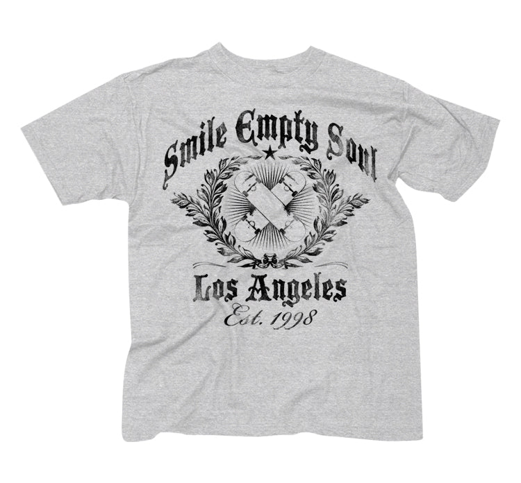 "Smile Empty Soul ""Established 1998""  Men's T-Shirt - Heather Grey"