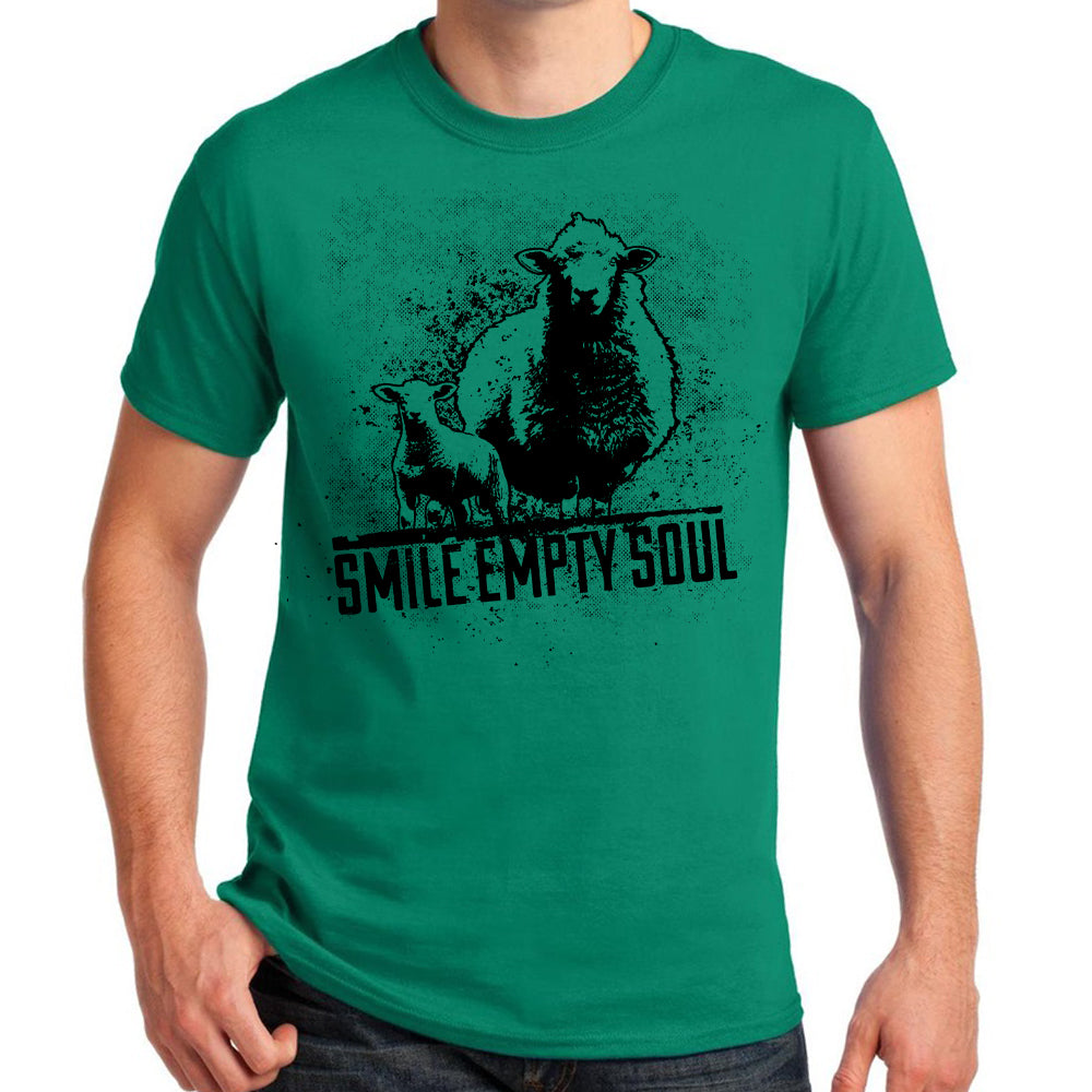 "Smile Empty Soul ""Sheep"" T-Shirt - Green"
