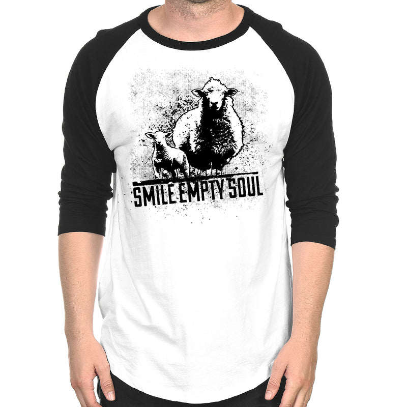 "Smile Empty Soul ""Sheep"" 3/4 Sleeve Raglan"