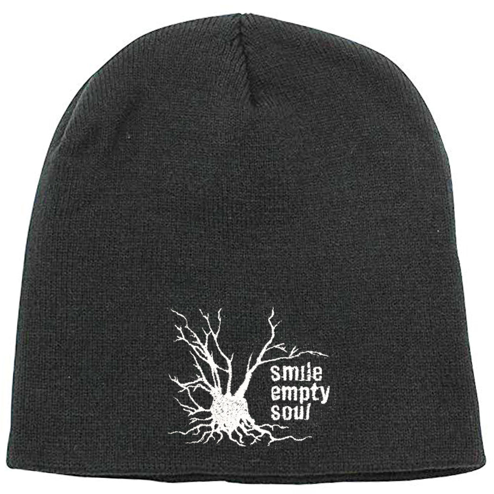 "Smile Empty Soul ""Tree Logo"" Beanie - Charcoal Grey"