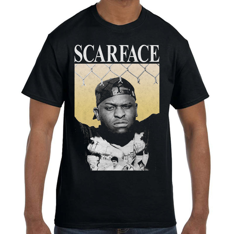 "Scarface ""Face"" Photo T-Shirt"