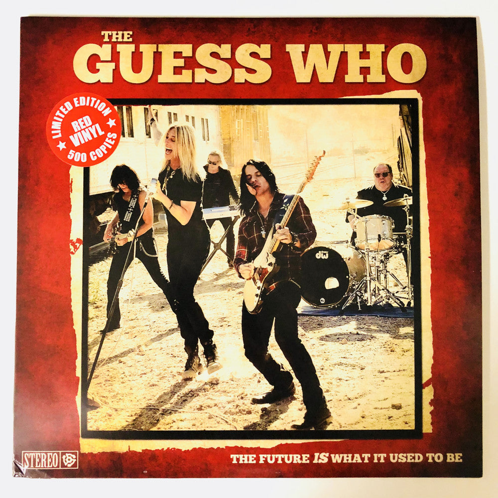 "The Guess Who LIMITED Edition ""The Future IS What It Used To Be"" Vinyl"
