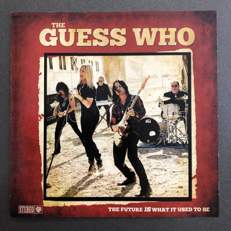 "The Guess Who "" The Future IS What It Used To Be"" CD"