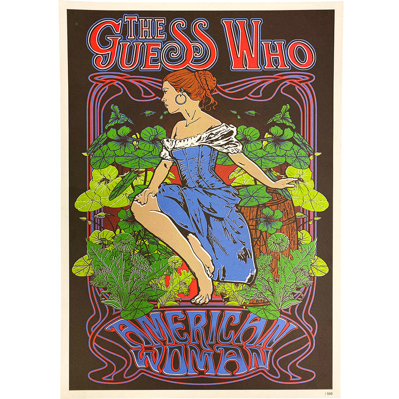 "The Guess Who ""American Woman"" 22 x 16 Poster"