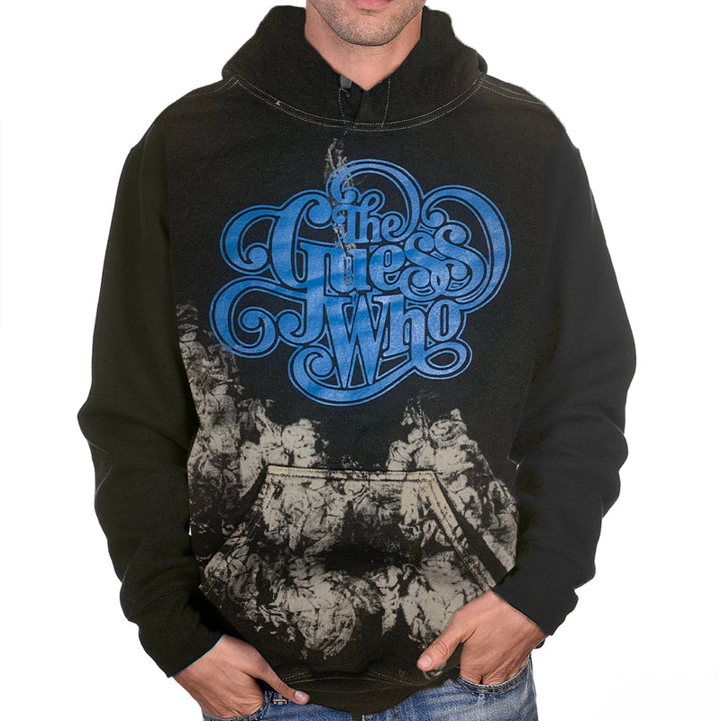 "The Guess Who ""Classic Logo"" Tie Dyed Pullover Hoodie"