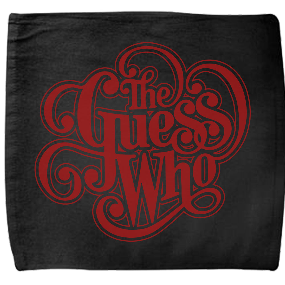 "The Guess Who ""Classic Logo"" Towel"
