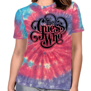 "The Guess Who ""Classic Logo"" Women's Tie Dyed T-shirt"