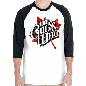 "The Guess Who ""Maple Leaf"" 3/4 Sleeve Raglan"