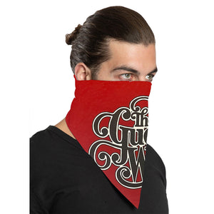 "The Guess Who ""Classic Logo"" Bandana in Red"