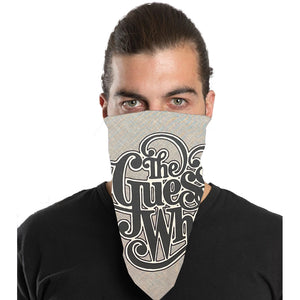 "The Guess Who ""Classic Logo"" Bandana in White"