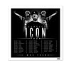 "Scarface ""Icon Tour"" Litho"