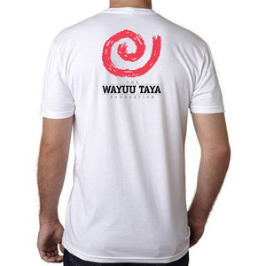 "Wayuu Taya ""Logo"" T-Shirt in White"