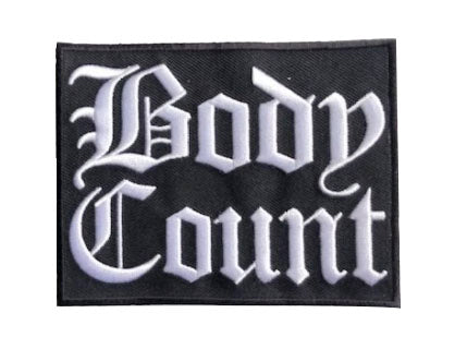 "Body Count ""Logo"" Patch"