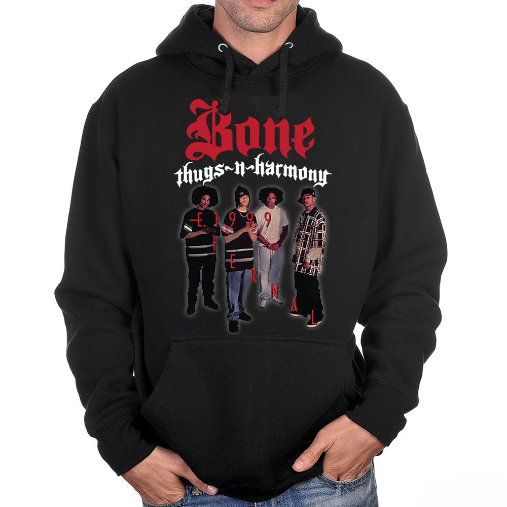 "Bone Thugs-n-Harmony ""Eternal 1999 Photo"" Pullover Hoodie"