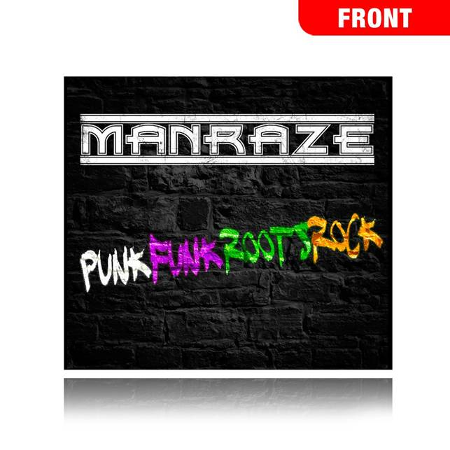 "Manraze ""PUNK, FUNK, ROOTS, ROCK"" CD"