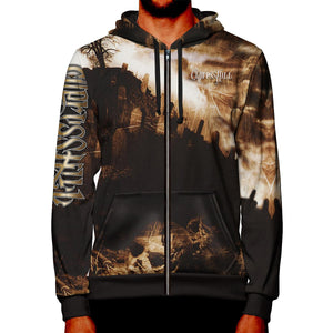 "Cypress Hill ""Black Sunday"" Premium All Over Print Zipper Hoodie"