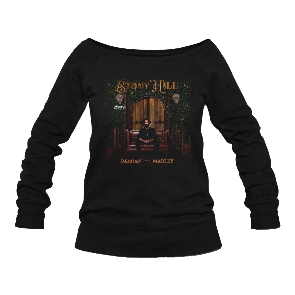 Stony Hill Album Cover Women's Long Sleeve T