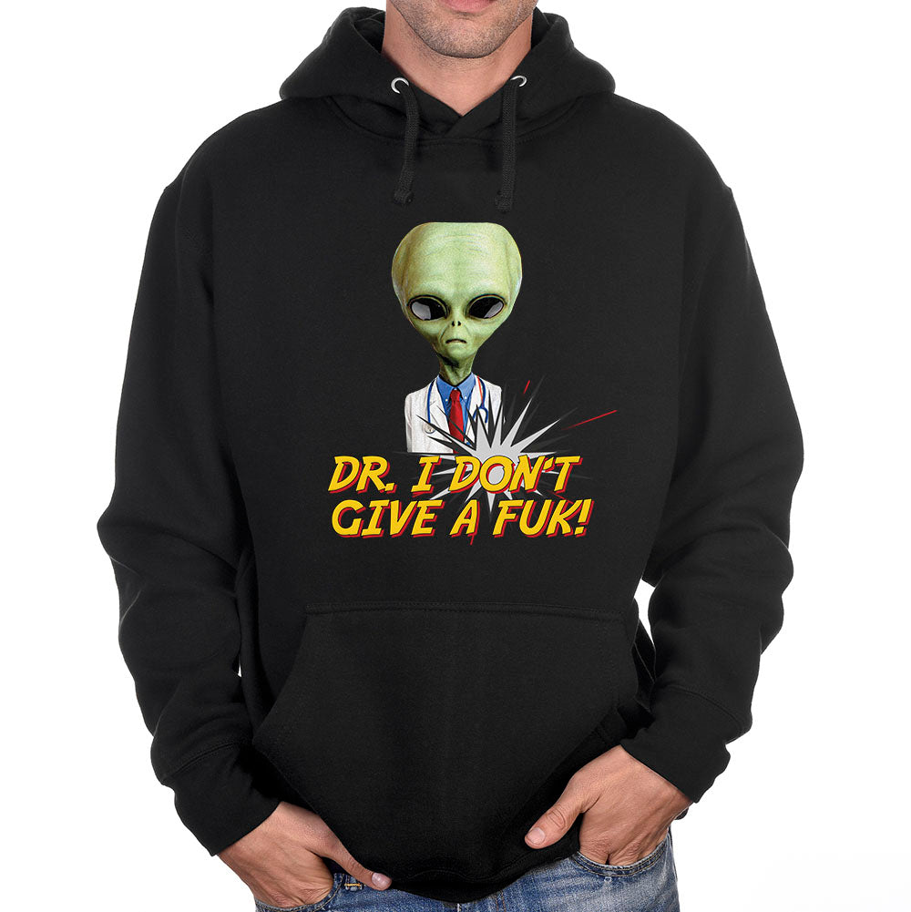 "Mr. X ""Dr. I Don't Give a Fuck"" Hoodie"