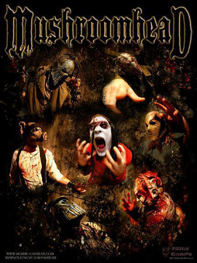 Mushroomhead Band Photo Poster