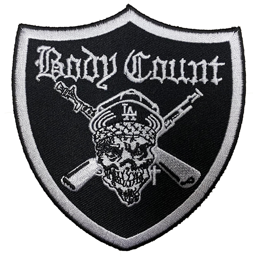 Body Count Pirate Patch