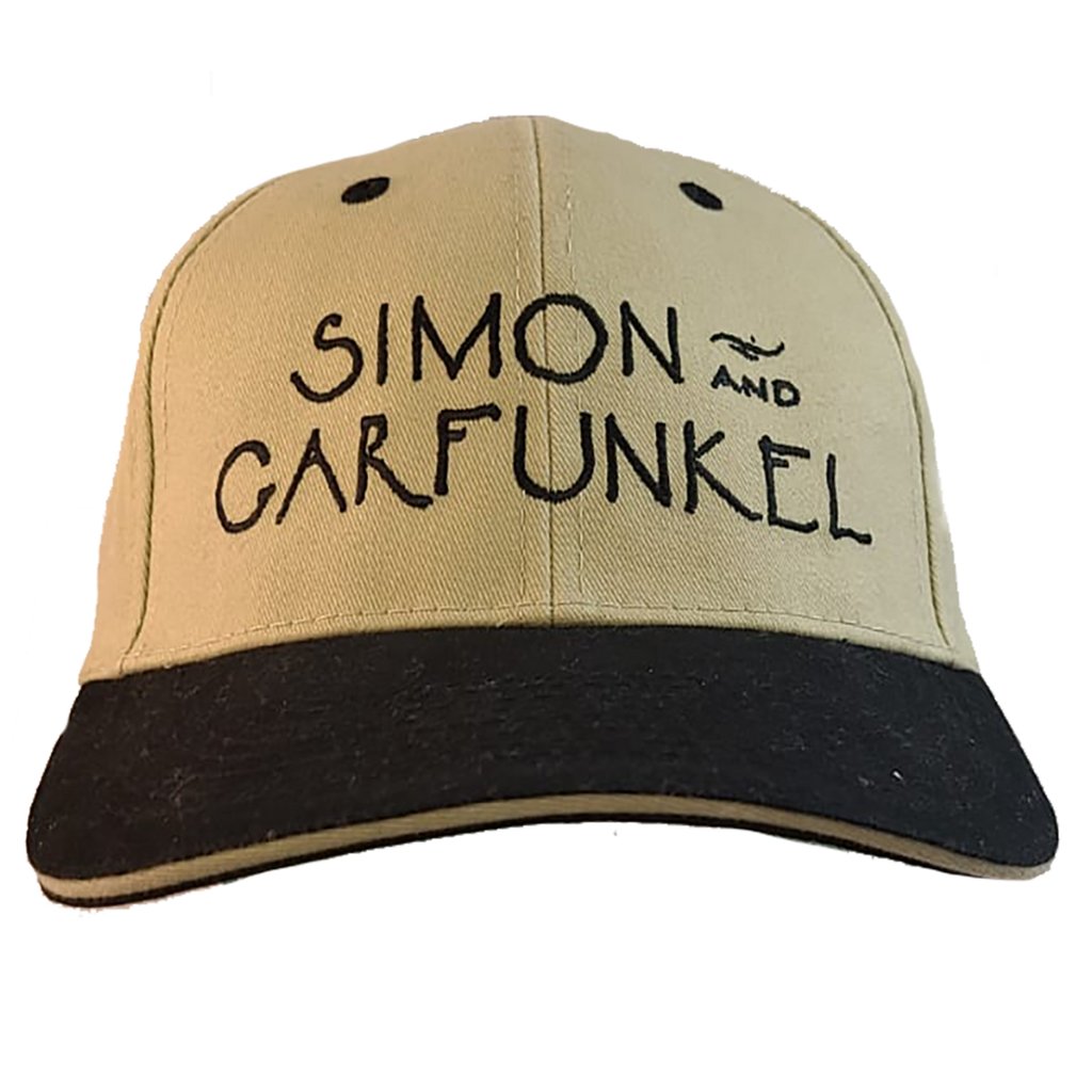 Simon & Garfunkel Hat - Black & Gold