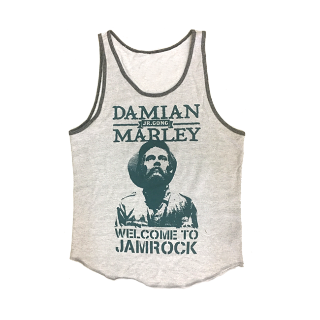 Welcome To Jamrock Men's Tank