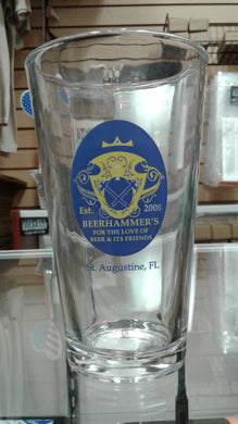 Beerhammer's Pint Glass