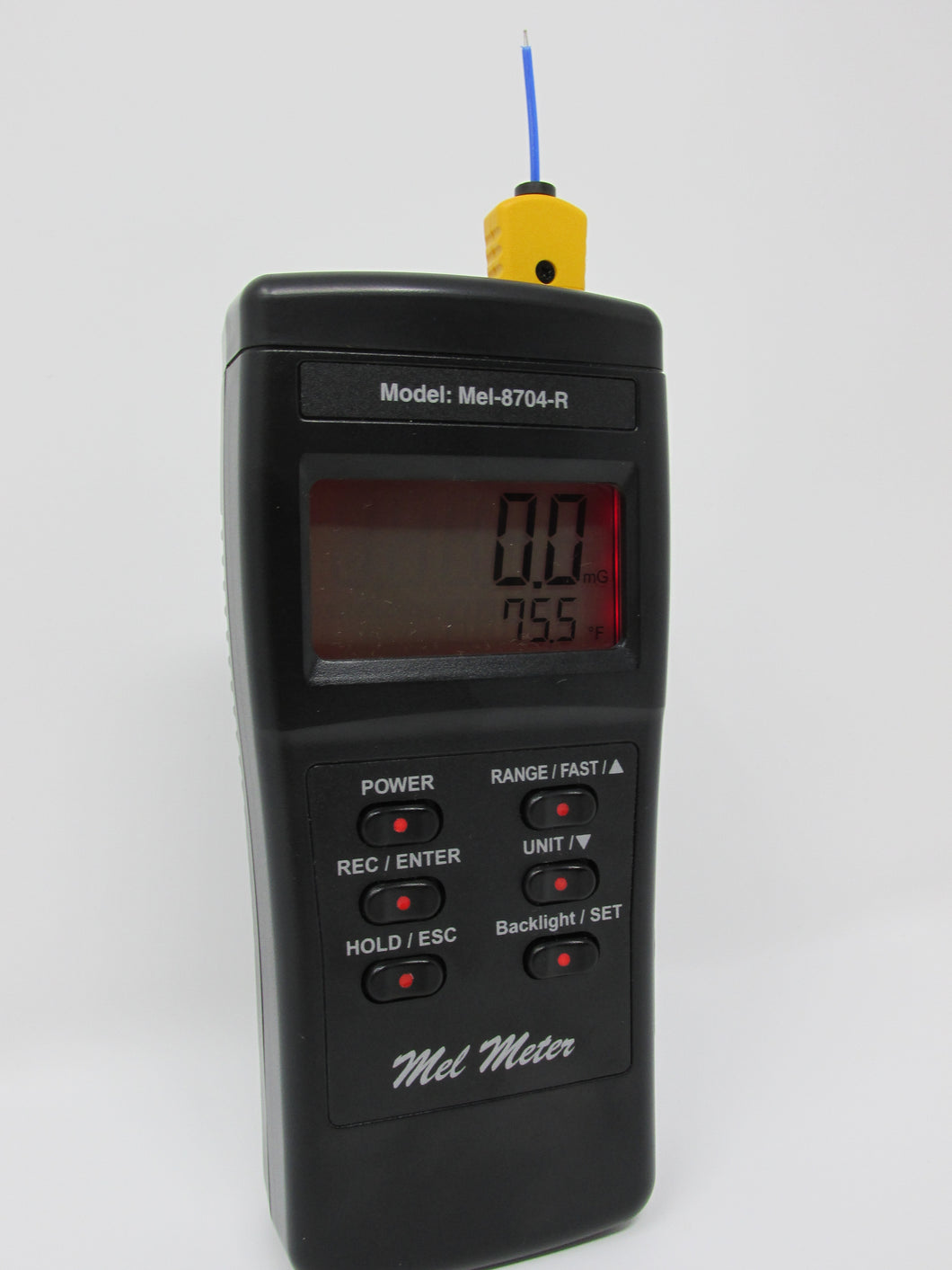 Mel Meter 8704R ProNavigator - EMF & Temperature monitoring in F and C + more