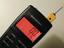 Mel Meter 8704R - EMF & Temperature Detection in F and C - the Standard Mel