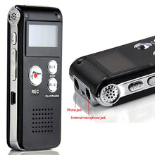 Voice Recorder -Digital- 8GB- and MP3 Player - Double Microphones