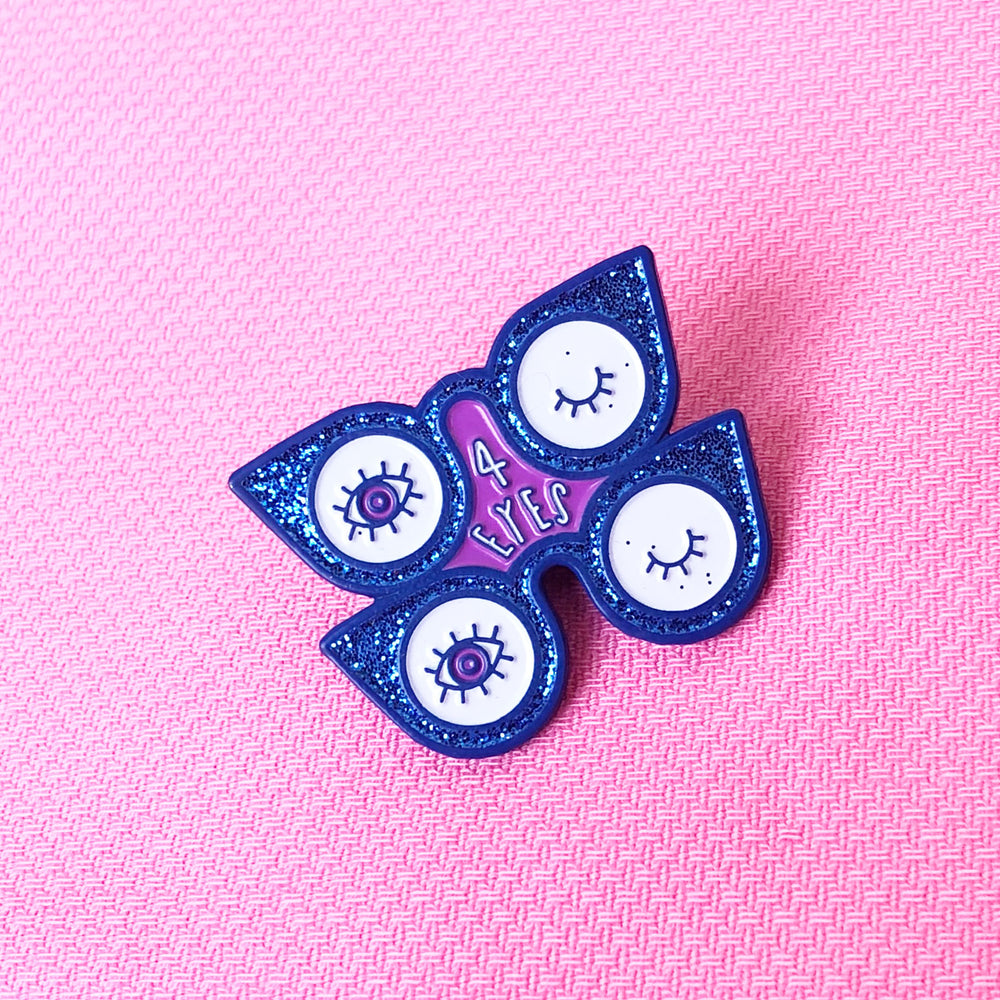 Four Eyes Pin