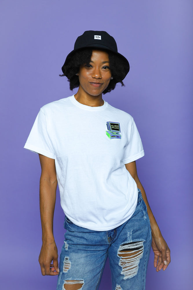 Always Online Embroidered Tee