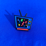 Retro TV Pin