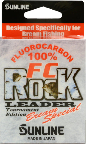 FC Rock Fluorocarbon Leader Bream Special