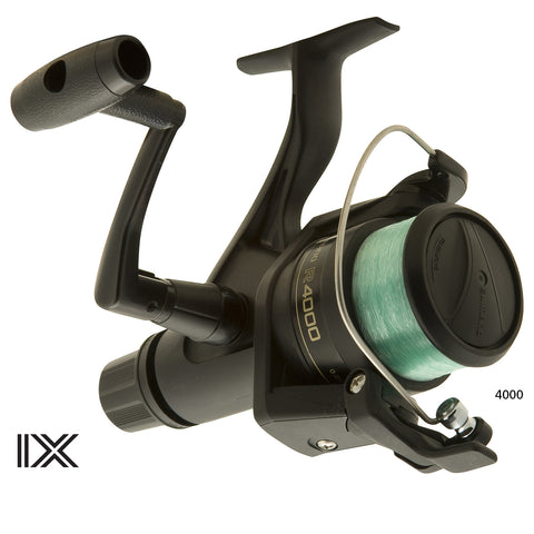 Shimano IX spin reel with line