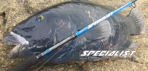 Oceans Legacy Long Cast Specialist Rods