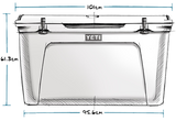Yeti Tundra 210 Esky Ice Box *IN-STORE PICKUP ONLY*