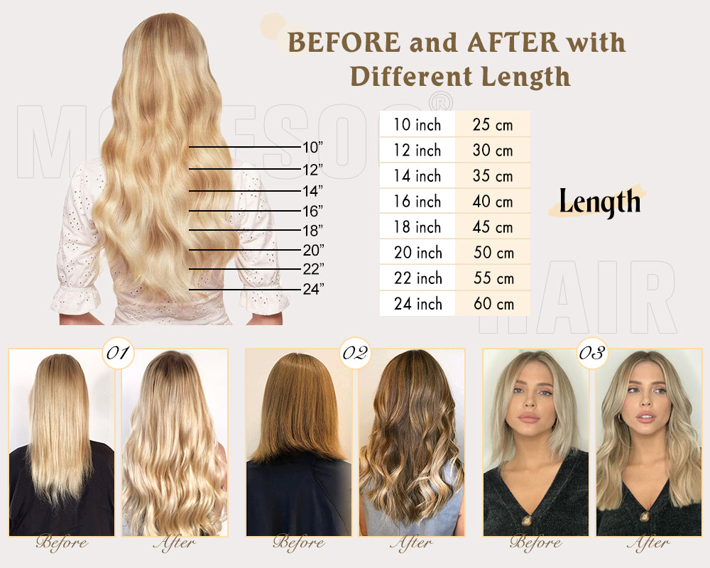 tape in extensions great length