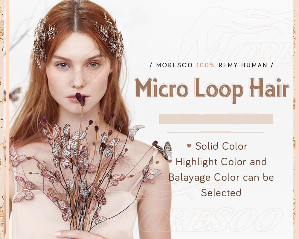 micro ring pre bonded remy human hair extensions