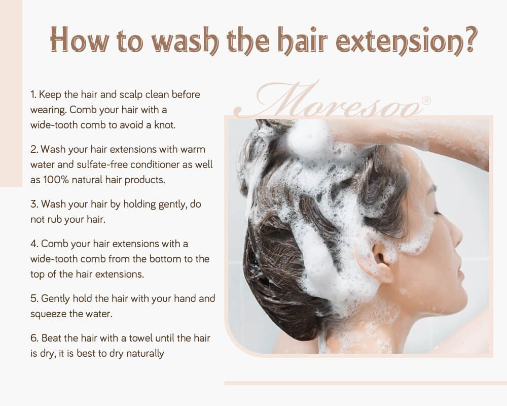 how to wash nano ring pre bonded remy human hair extensions