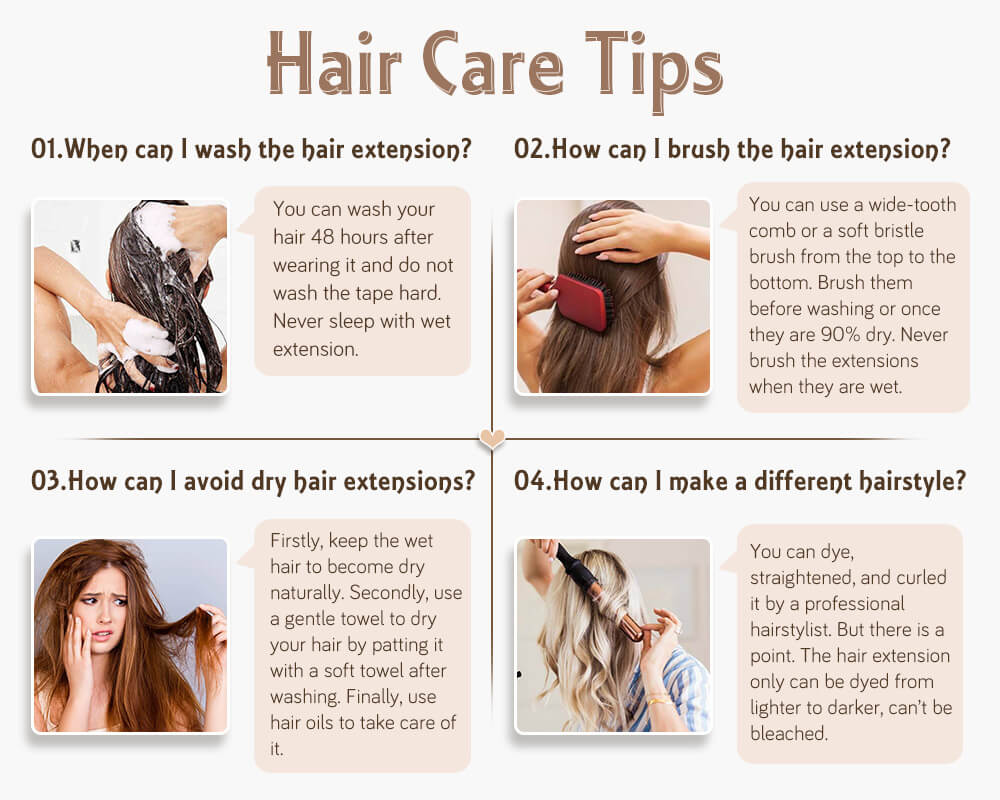 take care of nano ring pre bonded remy human hair extensions
