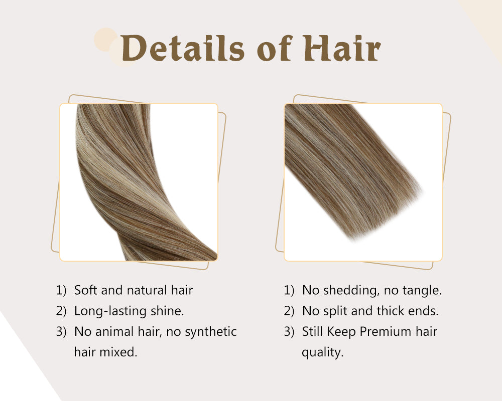 tape in real human hair extensions
