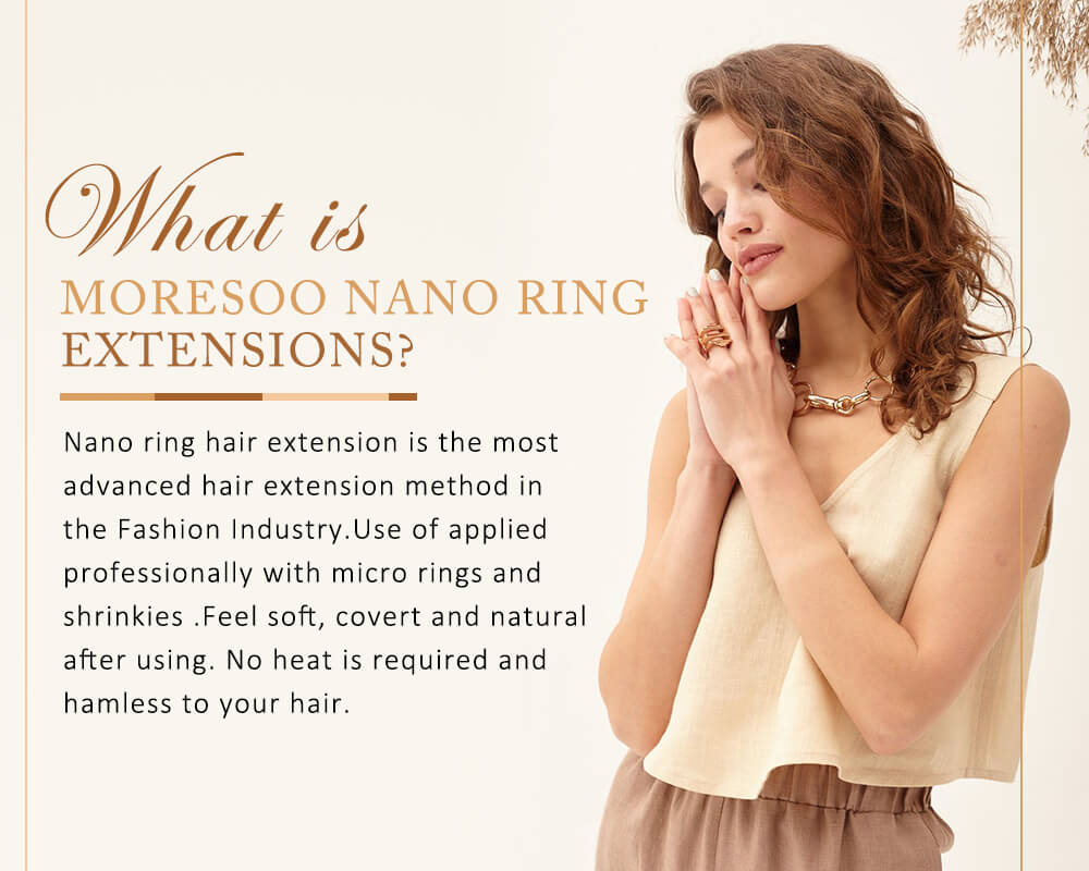 what is remy nano ring human hair extensions