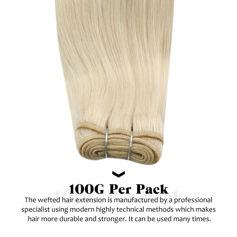 human hair weft bundle